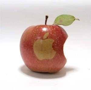 被咬了一口的苹果