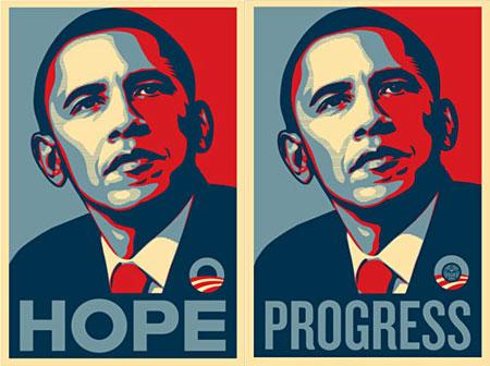 奥巴马风格海报