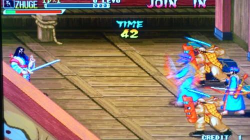 PS3上玩街机游戏三国战记