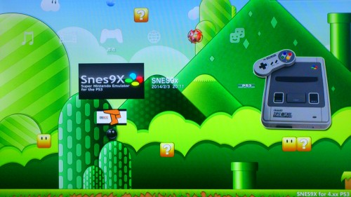 PS3用超任模拟器SNES9x图标