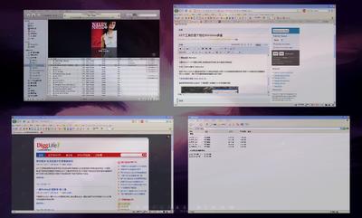 DExpose2样式的窗口切换也很不错
